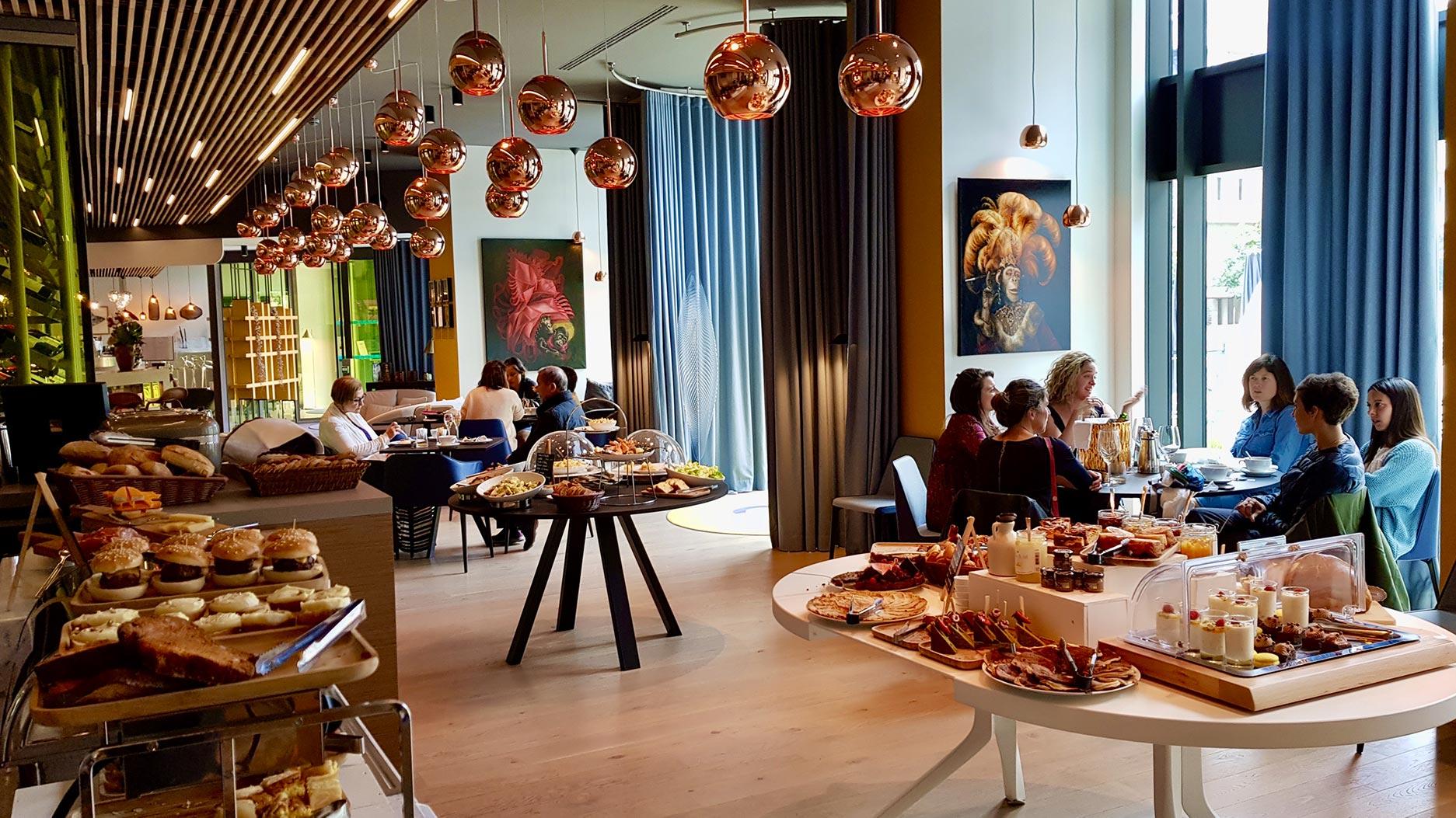 salle du restaurant le Grand Bé
