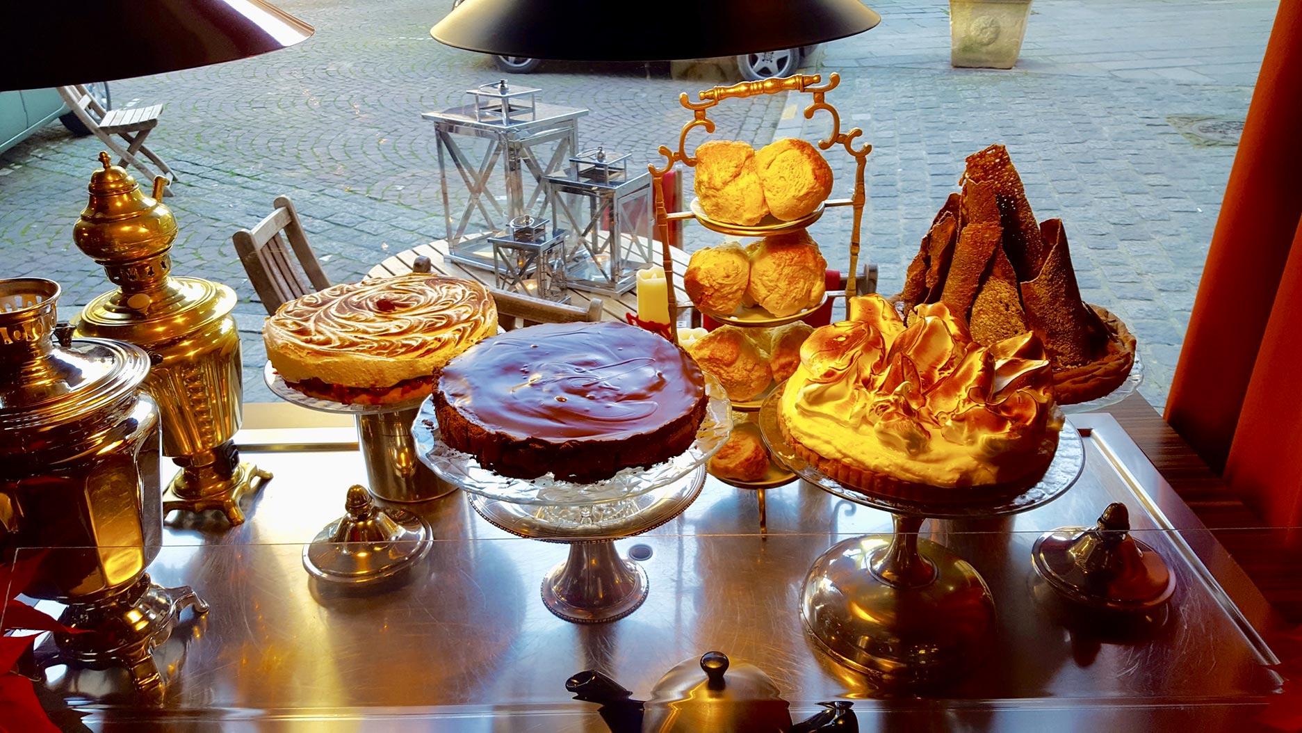 gâteaux à la bergamote à Saint-Malo