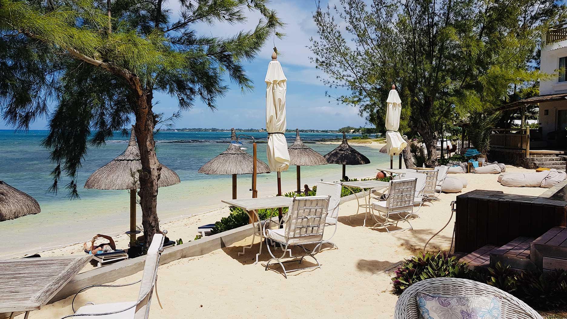 plage à l'hotel seapoint boutique hotel ile maurice
