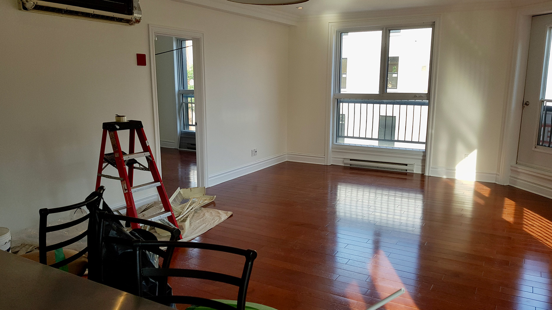 piece vide appartement montreal