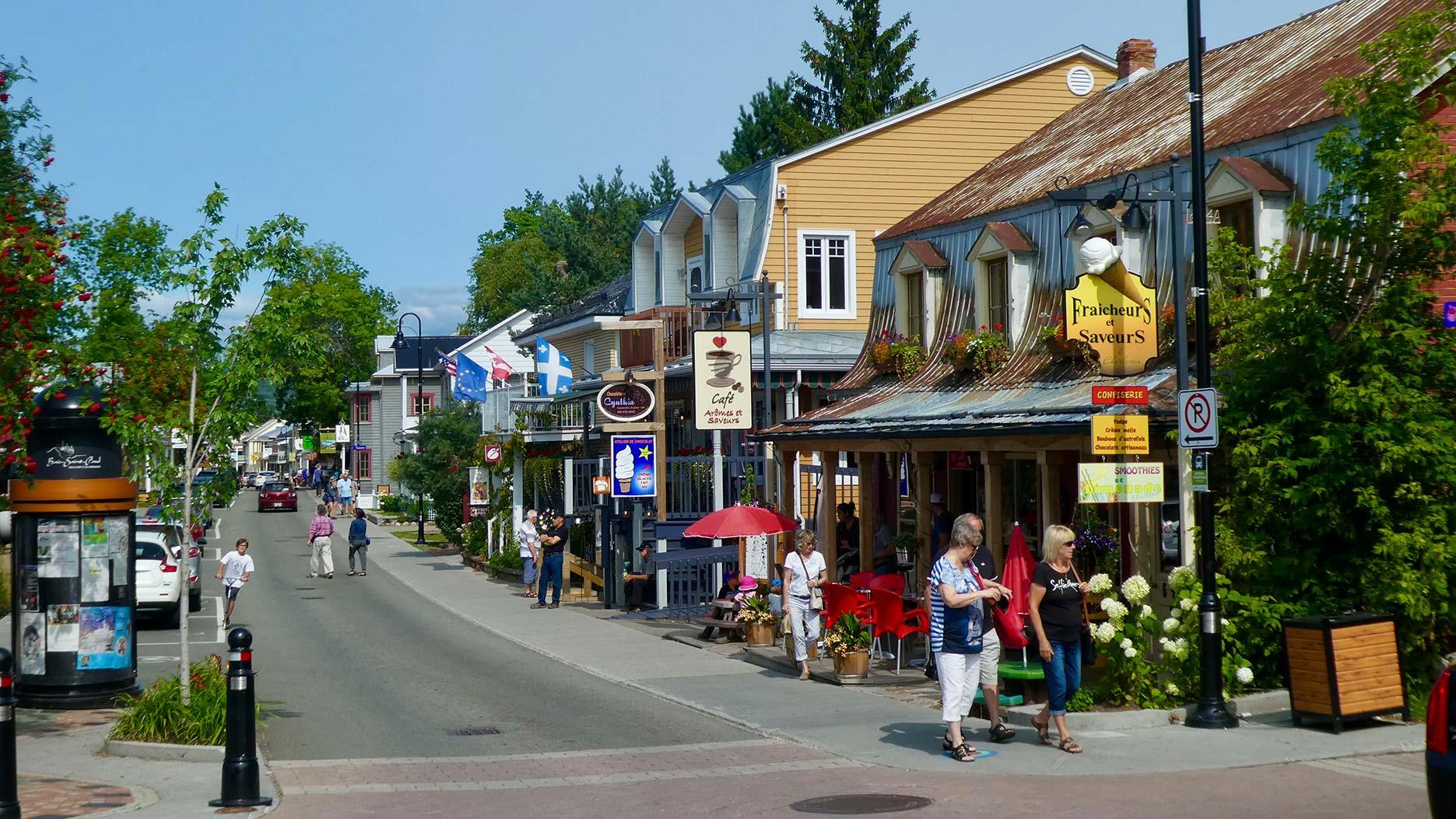rue principale de baie saint paul
