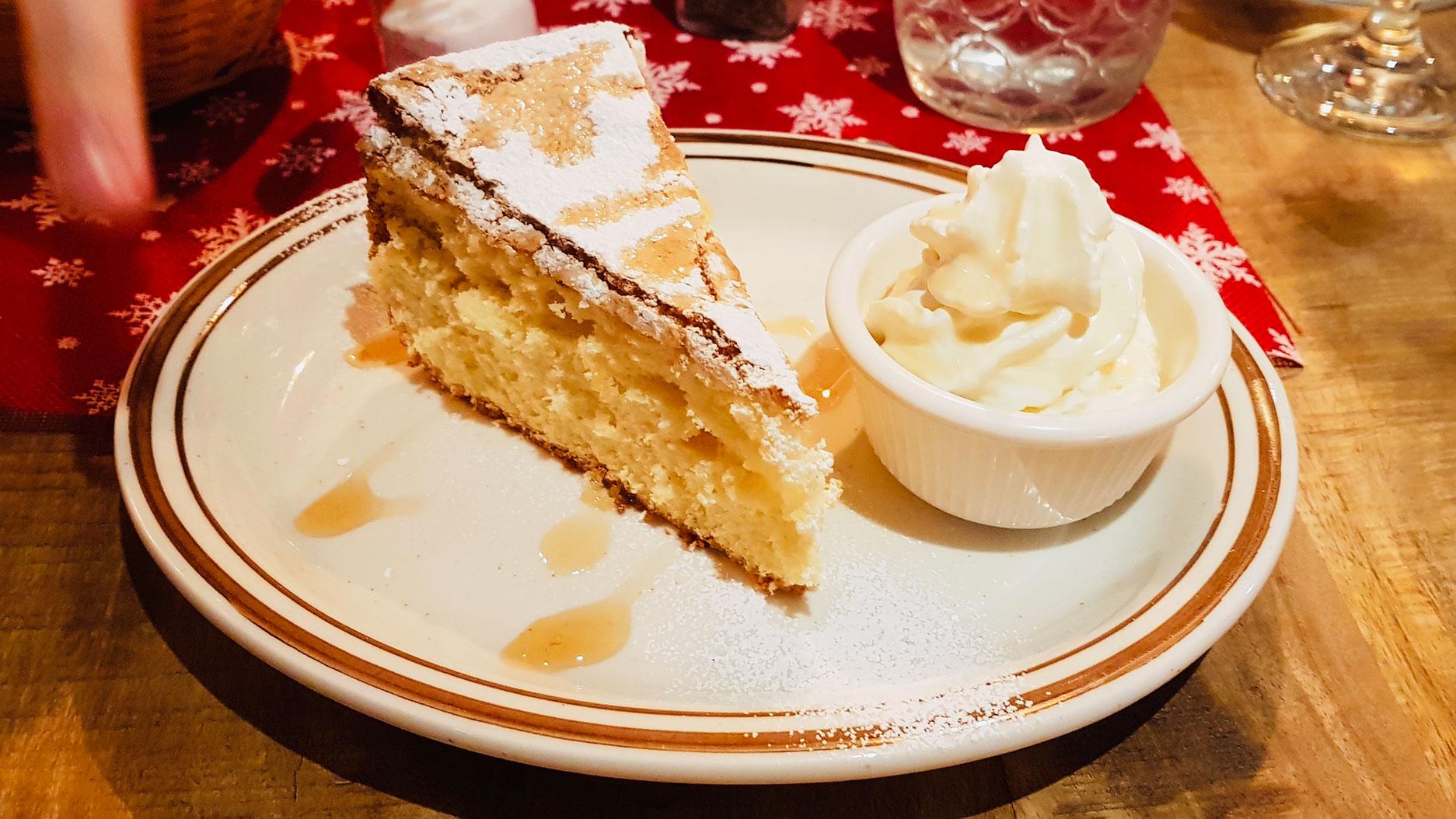 dessert au ptit rustik à montreal