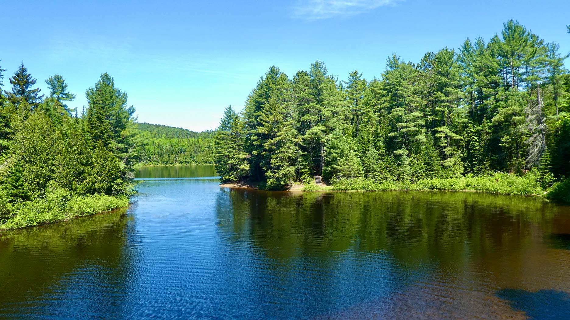 lac parc de la mauricie