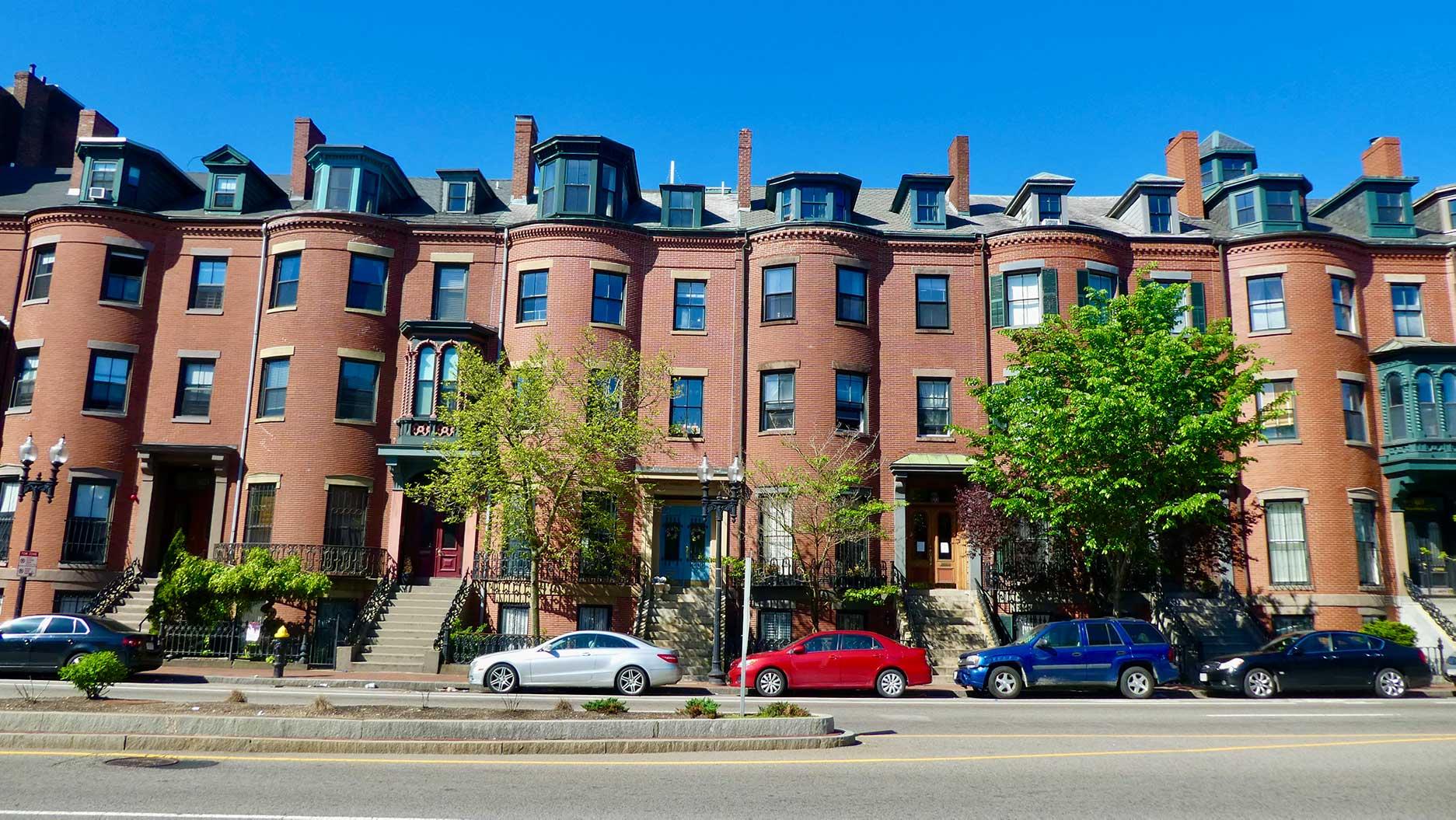 maisons typiques de boston